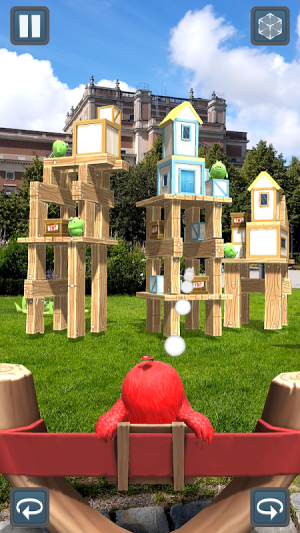 Angry Birds AR: Isle of Pigs 1.1.2.57453 Screen 1