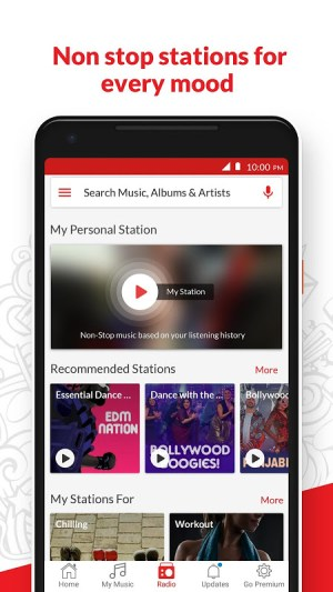 Android Wynk Music - Download & Play Songs, MP3, HelloTune Screen 2