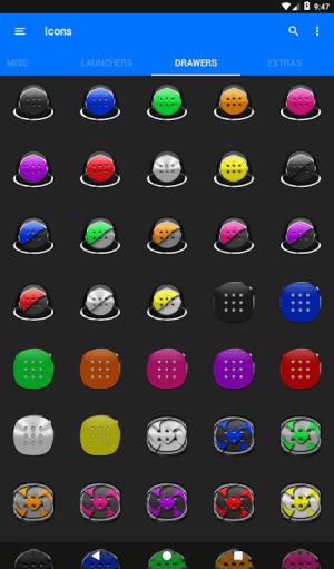 Cyan Icon Pack ✨Free✨ 3.8 Screen 14