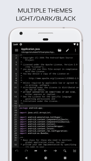 Code Editor 0.5.4 Screen 1