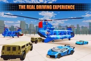 US Police City Car Transport Truck 3D 1.0 Screen 2