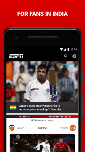 Android ESPN Screen 14