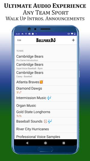 BallparkDJ Walkout Intros 10.0.2 Screen 4