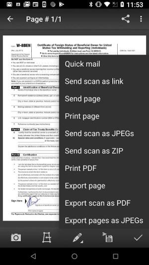Mobile Doc Scanner (MDScan) Lite 3.8.5c Screen 7