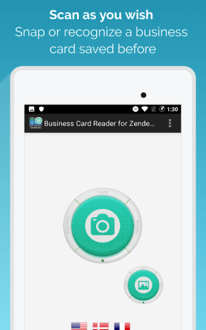 Android Business Card Reader for Zendesk Sell Screen 8