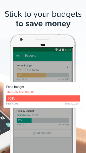 Spendee - Budget and Expense Tracker & Planner 4.2.2 Screen 3