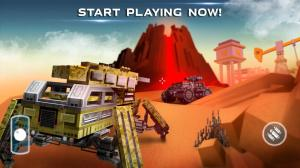 Blocky Cars - Online Shooting Games 7.3.11c Screen 5