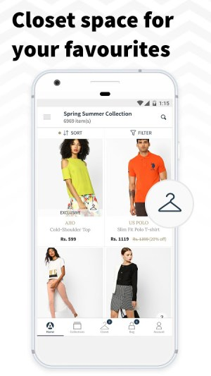 AJIO Online Shopping App 4.5 Screen 2