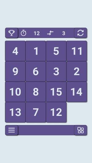 15 puzzle 2.1 Screen 1