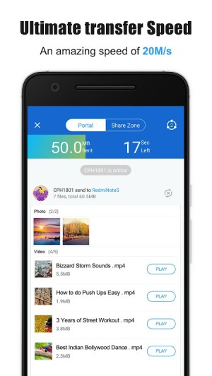 Android SHAREit - Transfer & Share Screen 3