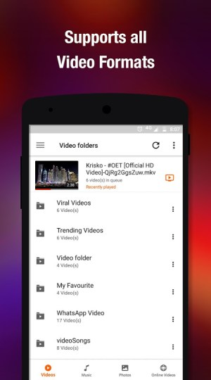 Video Player All Format - Full HD Video Player 8.5.0.32 Screen 1