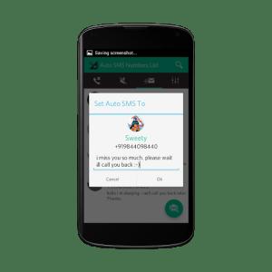 Android Smart Call Notifier & blocker Screen 4