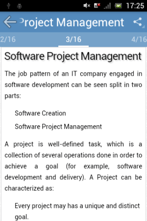 Android Software Engineering Screen 1
