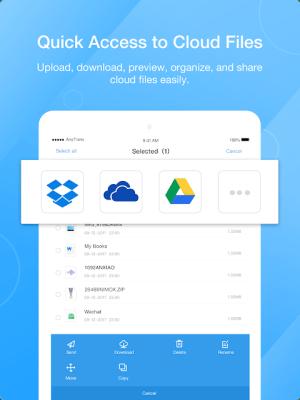 AnyTrans: Send Files Anywhere 3.5.6 Screen 1