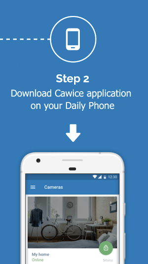 Cawice - Free Home Security Camera App for Android 1.4 Screen 1