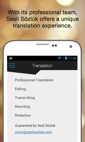Android Sesli Sözlük Screen 2