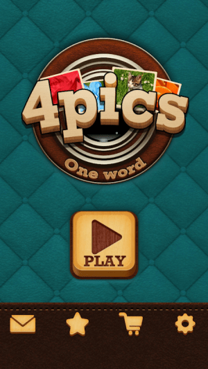 4 Pics Puzzle: Guess 1 Word 1.3.6 Screen 2