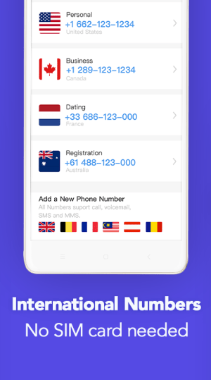 TalkU: Phone Numbers for Free Calling & Texting 4.16.0 Screen 10