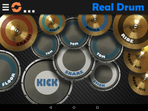 Android Real Drum - The Best Drum Pads Simulator Screen 1