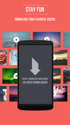 Android HD Video Downloader Screen 4