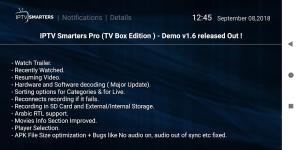 IPTV Smarters Pro 1.7.9.6 Screen 4