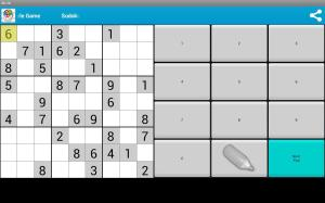 Android Sudoku Free Puzzle Game Screen 5
