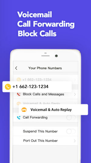 TalkU: Phone Numbers for Free Calling & Texting 4.16.4 Screen 2