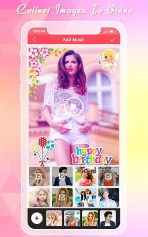 Birthday Photo Video Maker 1.3 Screen 1