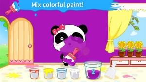 Baby Panda's Color Mixing Studio 9.35.30.00 Screen 1
