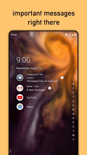 Niagara Launcher 🔹 fresh & clean 0.12.1 Screen 2