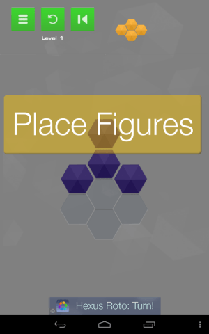 Hexus Puzzles 1.10 Screen 1