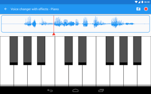 Android Voice changer with effects Screen 12