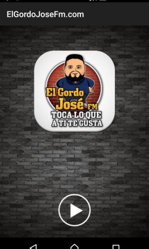 Android ElGordoJoseFm.com Screen 2
