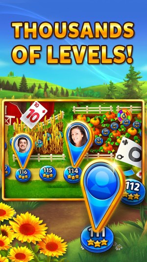 Solitaire - Grand Harvest - Tripeaks 1.55.2 Screen 6