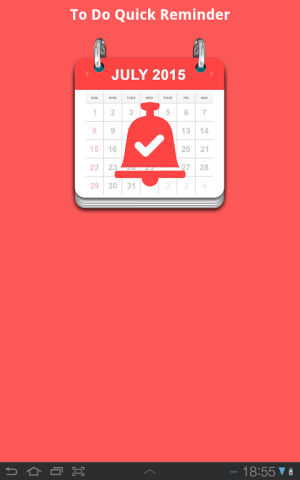 To Do Quick Reminder 2.6 Screen 8