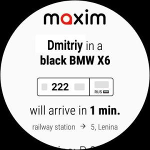 maxim — order taxi, food and groceries delivery 3.12.11h Screen 3