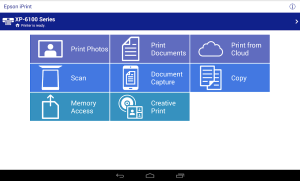 Epson iPrint 7.4.0 Screen 5