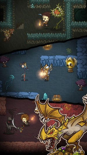 The Greedy Cave 2.5.3 Screen 1