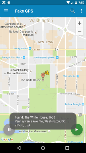 Fake GPS Location Donate 2.0.7 Screen 2