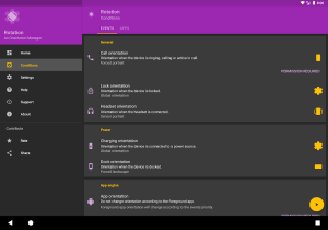 Rotation - Orientation Manager 12.3.1 Screen 2