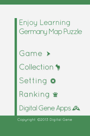 Enjoy Learning Germany Map Puzzle 3.3.1 Screen 14