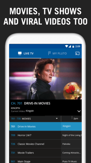 Pluto TV 3.0.1-leanback Screen 3