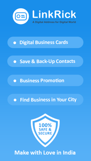 LinkRick : Digital Address, Digital Business Card 6.2.0 Screen 5