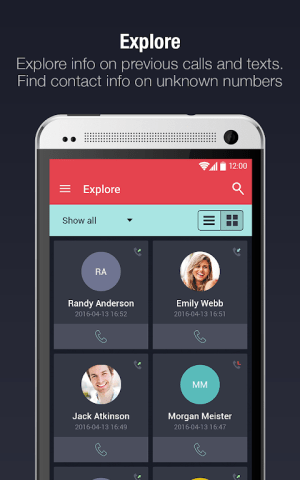 Android CIA - Caller ID & Call Blocker Screen 2