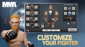 MMA Manager 0.8.5 Screen 1