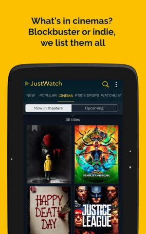 JustWatch - Search Engine for Streaming and Cinema 2.5.13 Screen 9