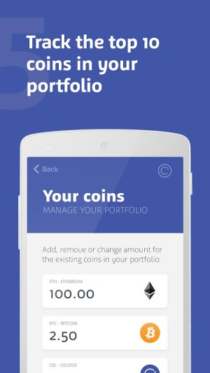 Celsius Network – Crypto Wallet: Earn Interest Now 2.6.2 Screen 3