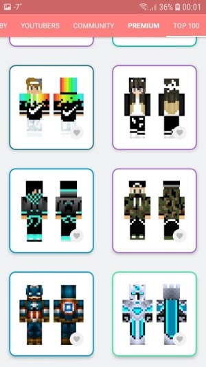 Android Skins MASTER for MINECRAFT (30 000 Skins) + Editor Screen 14