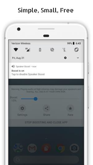 Speaker Boost - Volume Booster 3.0.11 Screen 5