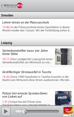 HITRADIO RTL 1.0.1 Screen 3